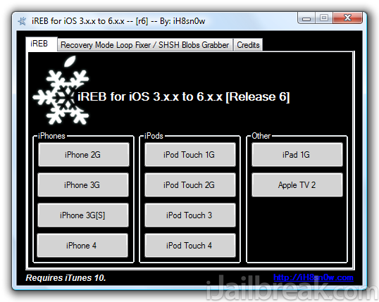 Download iReb R6 Windows