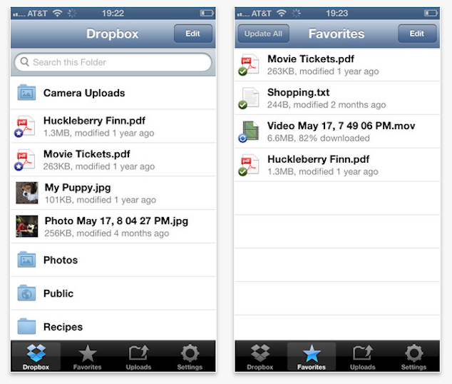 Dropbox For iOS Gets iOS 6 Support