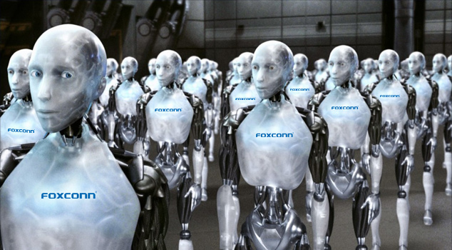 Foxconn Robotic Workers