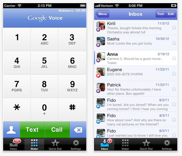 Google Voice For iOS Gets iOS 6 / iPhone 5 Support