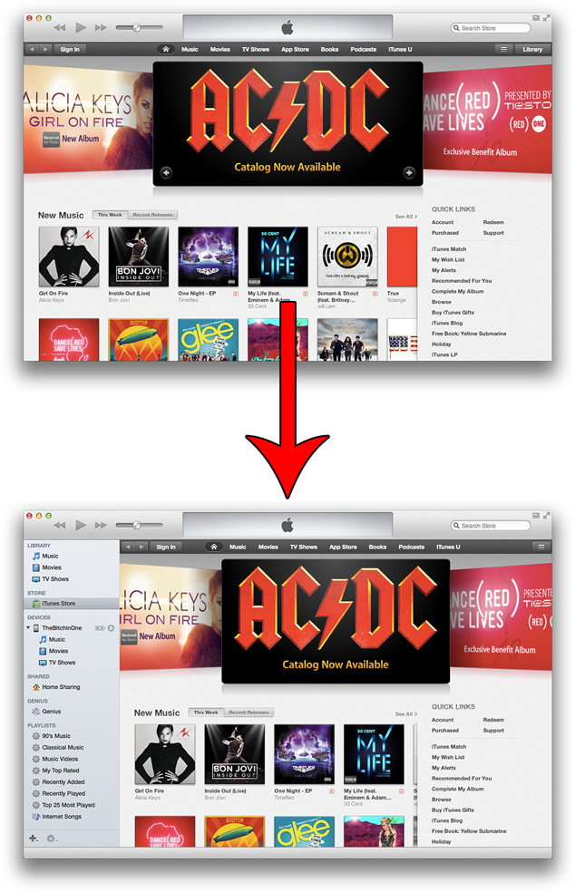 How To Make iTunes 11 Look More Like iTunes 10.7