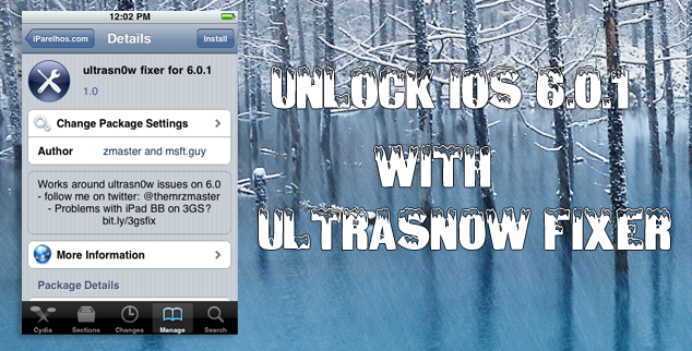 How To Unlock iOS 601 With UltraSn0w Fixer1