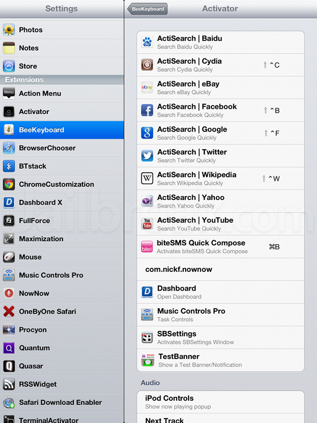 BeeKeyboard Cydia Tweak