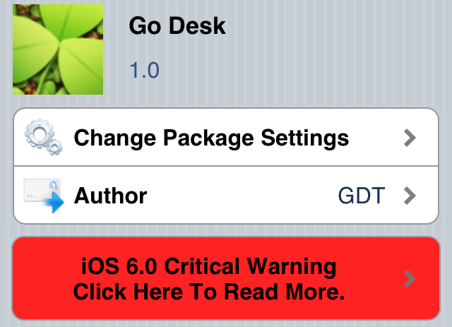 Go Desk Cydia Tweak
