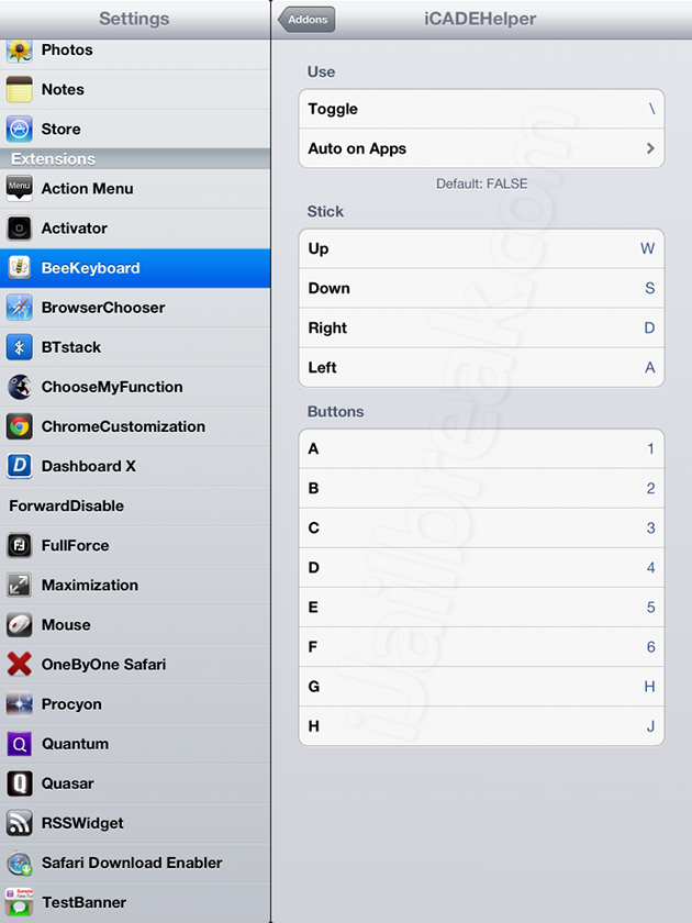 BeeKeyboard Cydia Tweak: Use A Keyboard To Control The iPad