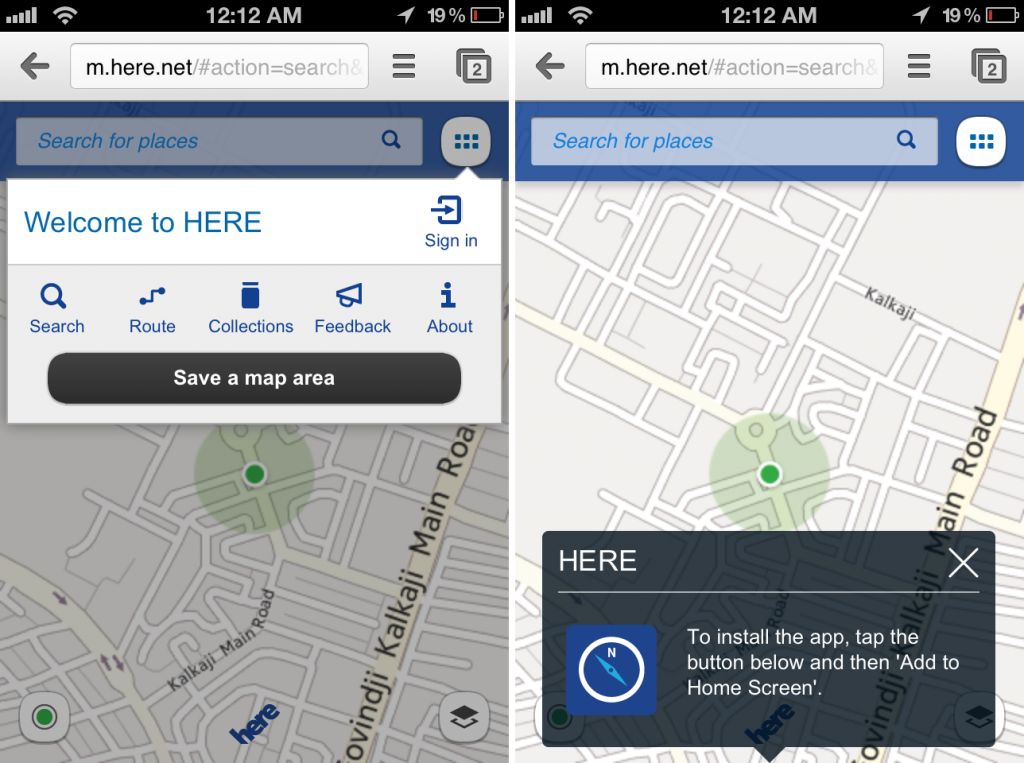 Nokia HERE Maps Announced: iOS, Android, FireFox OS HERE App Coming Soon