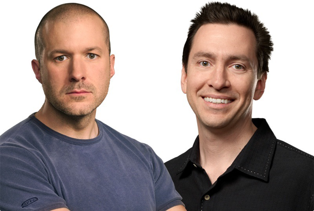 Scott Forstall And Jony Ive