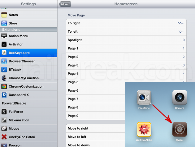 how to use bluetooth mouse with ipad without jailbreak