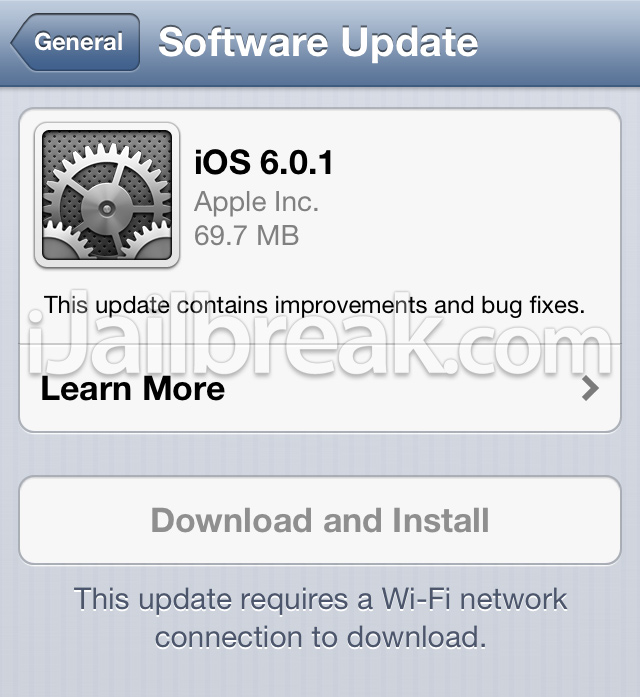 iOS 6.0.1 Download