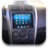 Guy Installs iPad Mini In Dashboard Of A 2012 Toyota Corolla [VIDEO]