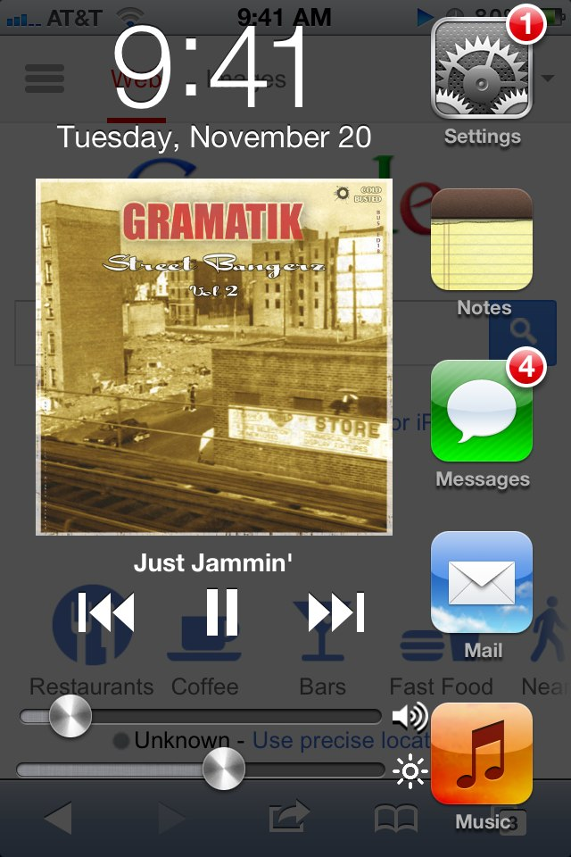 jLauncher Cydia Tweak: Fullscreen App Switcher With Toggles
