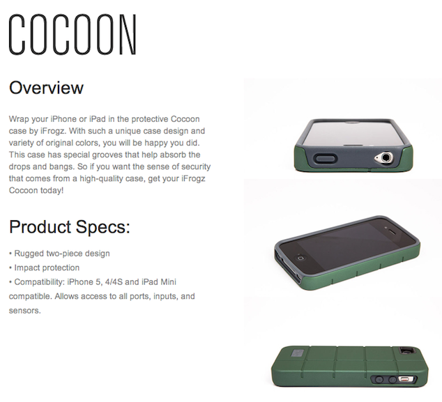 Cocoon Case For iPhone iPad ZAGG-ijailbreak