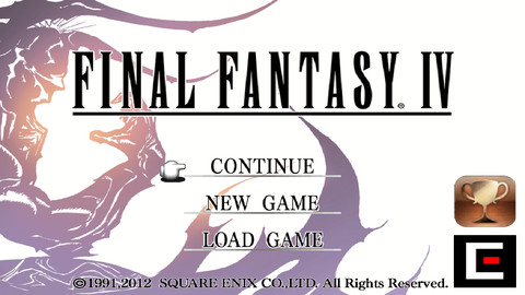 FINAL FANTASY IV iOS Square Eneix Screenshot