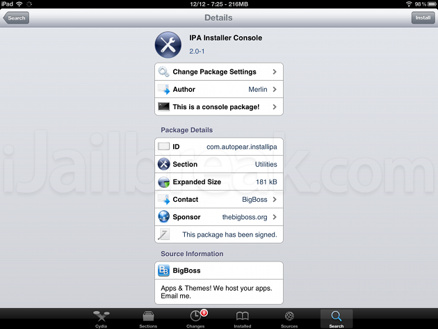 IPA Installer Console: Install Cracked Apps iOS 4 To iOS 6