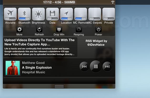 Fade On iPad