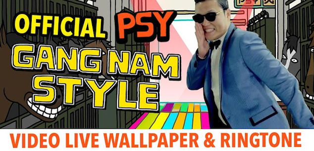 PSY GANGNAM STYLE LWP and Tone Android-ijailbreak