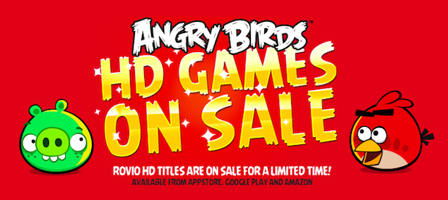 Rovio Angry Birds HD Sale-ijailbreak