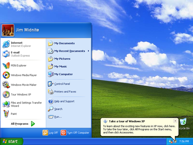 Run Windows XP In Windows 8