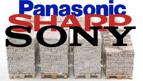 Sony Sharp Panosonic Selling Off 3 Billion In Assets