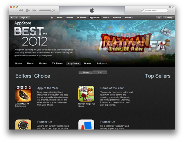 The-App-Store-Top-List-2012