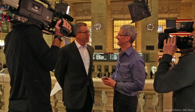 Tim Cook's Interview With Brian Williams To Air December 6th On Rock Center
