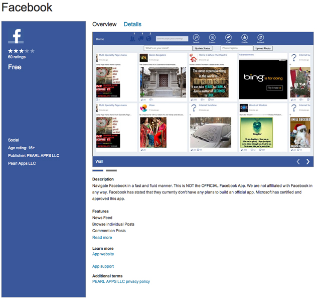 Unofficial-Facebook-Windows-8-App