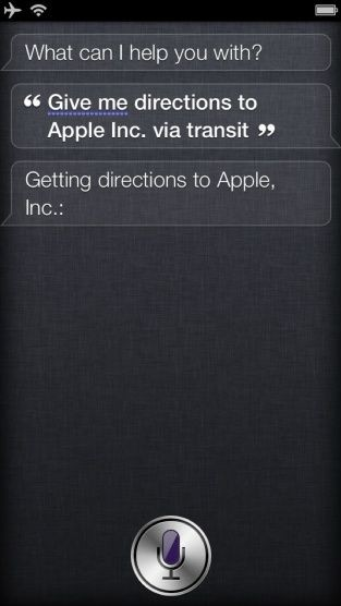 Here's How To Use Siri To Get Directions From Google Maps
