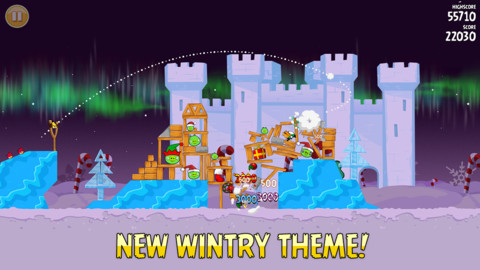 Angry Birds Seasons Winter Wonderham Episode