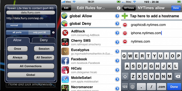 Firewall IP Cydia Tweak