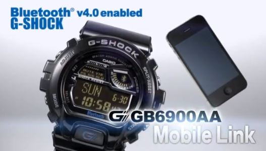 G-Shock GB6900AA Will Connect With The iPhone Over Bluetooth v4.0