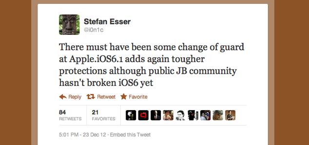 Apple Makes Jailbreaking Even Harder In iOS 6.1, There Is Going To Be Tough Times Ahead