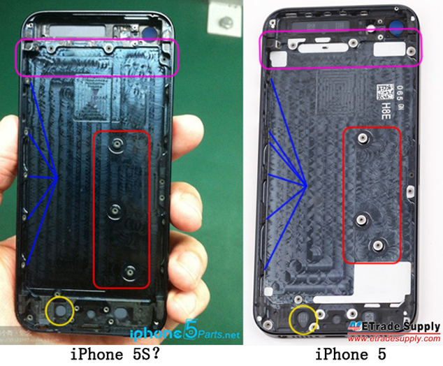 iPhone 5S Rear Housing