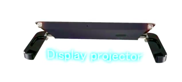 iPhone 5S concept display projector