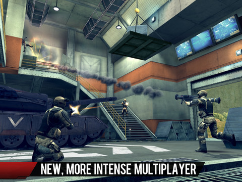 Modern Combat 4: Zero Hour iOS Screenshot