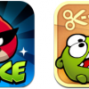 Angry Birds Space and Cut the rope
