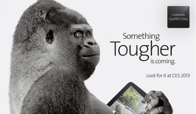 Corning To Show Off Gorilla Glass 3 At CES 2013