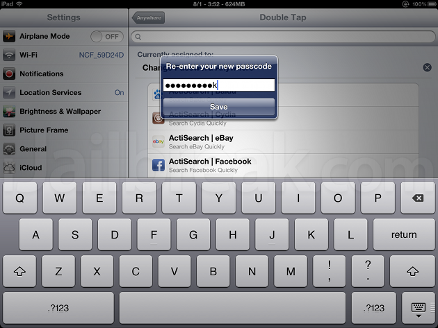 Change Password Anywhere Cydia Tweak