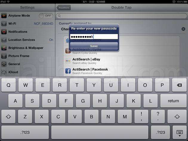 Change Password Anywhere Cydia Tweak