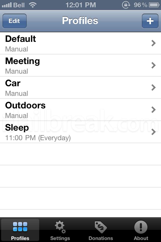 SBProfiles 2.0-1 iOS