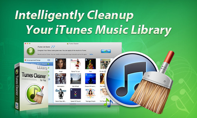 Clean Up iTunes Music Library With Leawo Tunes Cleaner