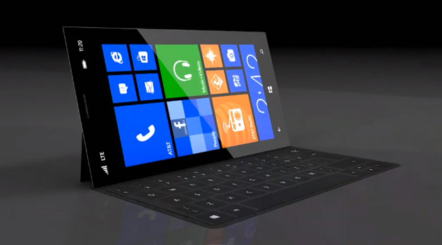 Microsoft Surface Phone Concept Video