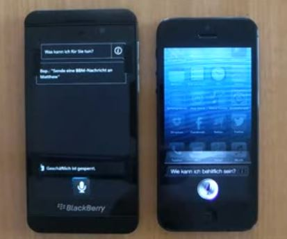BlackBerry Z10 Pit Against Apple iPhone 5, Performs Quite Well [VIDEO]
