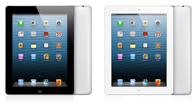 black white ipad 4 128gb