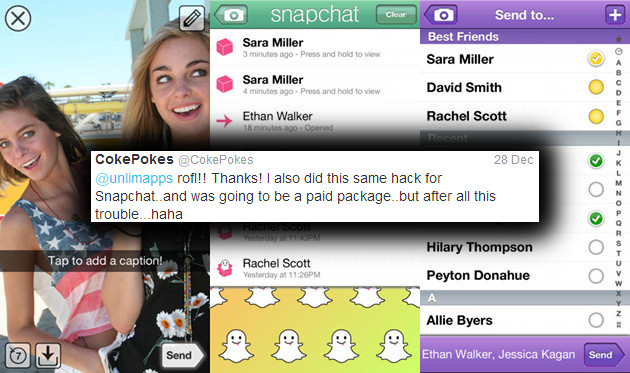 Snapchat Hack Coming To Allow You To Save Pictures And Videos