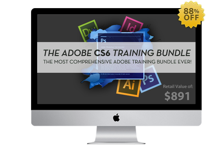 Adobe CS6 Training Bundle