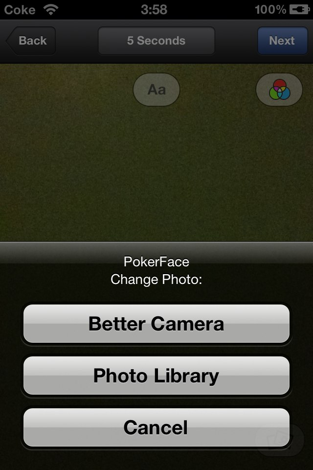 PokerFace For Facebook Poke Cydia Tweak