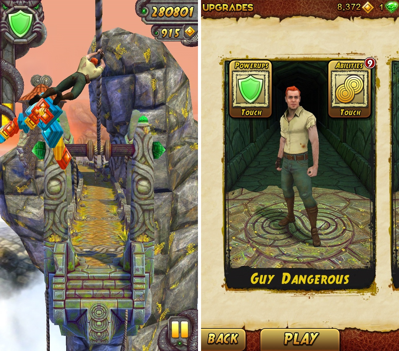 kimboleeey — Temple Run Brave Android Games Room