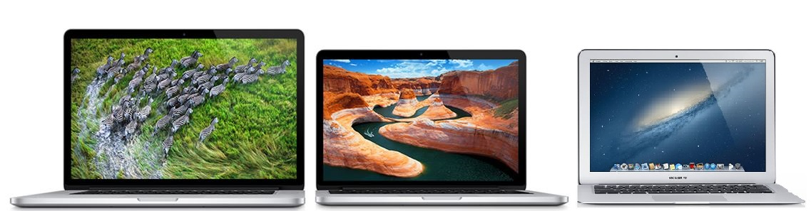 Apple MacBook Pro And MacBook Air