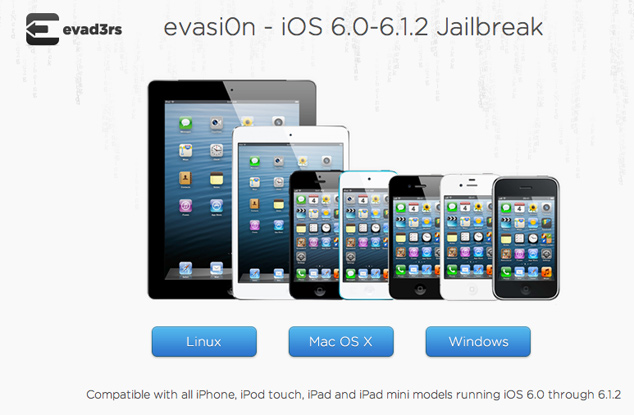 Download Evasi0n 1.4 To Jailbreak iOS 6.1.2