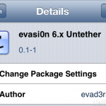 How To: Convert A Tethered iOS 6.x Jailbreak To An Untethered Jailbreak Using Evasi0n 6.x Untether Cydia Package